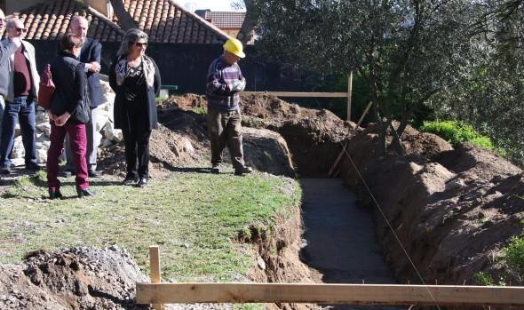Significativo avance presentan obras de recuperación de Multicancha Anakena