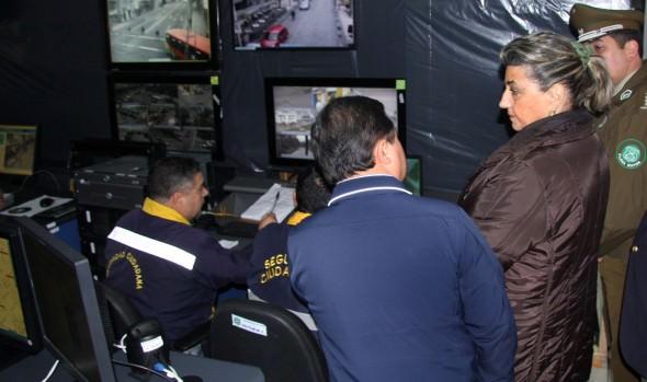 Con actualización tecnológica avanza plan de modernización de sistema televigilancia de Viña del Mar