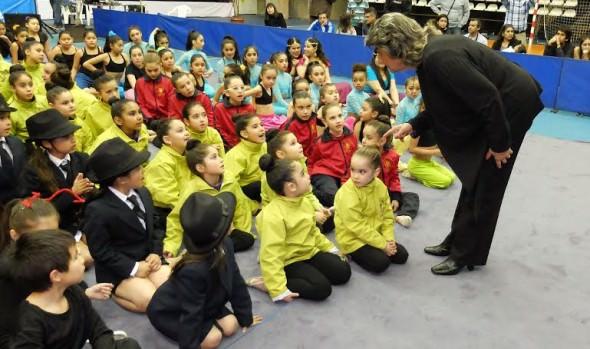Con éxito se realizó el 3º Encuentro de Gimnasia Rítmica en Viña del Mar