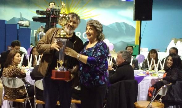 47° aniversario de Asociación de Fútbol de Nueva Aurora fue encabezado por alcaldesa Virginia Reginato