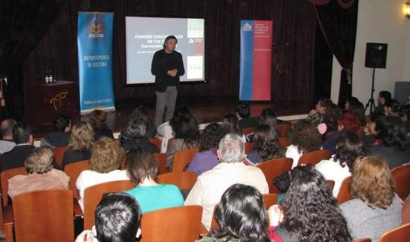 Municipalidad de Viña del Mar y CNCA invitan a jornada informativa sobre fondos concursables