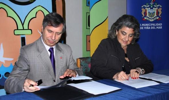 Corporación Municipal firmó convenio para promover continuidad educacional de alumnos de Liceos Técnicos de Viña del Mar