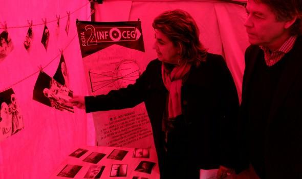 Con cámara gigante  se conmemoró Día Nacional de la Fotografía en Viña del Mar
