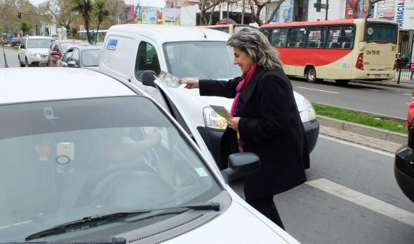 Campaña preventiva de accidentes para peatones se inicia en Viña del Mar