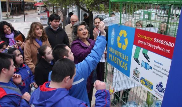 Municipalidad de Viña  del Mar aumenta la capacidad de reciclaje de botellas plásticas