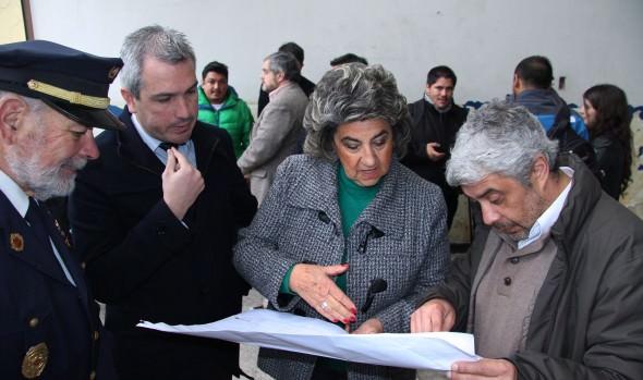 Anuncio de reconstrucción de Comandancia  de Bomberos de Viña del Mar fue valorado por alcaldesa Virginia Reginato