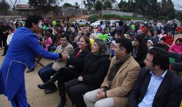 """Programa """"Quiero Mi Barrio"""" beneficiará con obras de adelanto a cerca de dos mil personas en población Expresos Viña y Glorias Navales"""