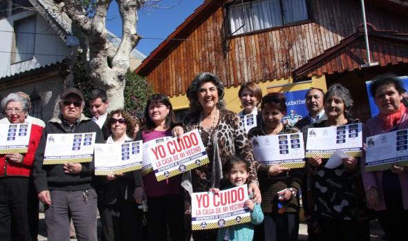 """Municipio de Viña del Mar lanzó campaña de Seguridad Ciudadana """"Yo Cuido la Casa de Mi Vecino"""""""