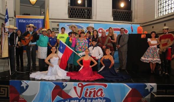 Con variada programación Viña del Mar celebrará el Mes de la Patria