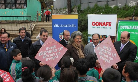 "En Viña del Mar, autoridades lanzaron campaña preventiva  ""Volantín Seguro"""