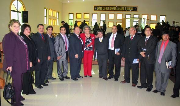 Tedeum evangélico de Fiestas Patrias 2014 fue encabezado por alcaldesa Virginia Reginato