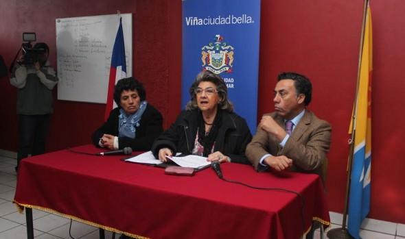 Compromiso de Seremitt  para solucionar problemas de locomoción colectiva , fue valorado por alcaldes Virginia Reginato