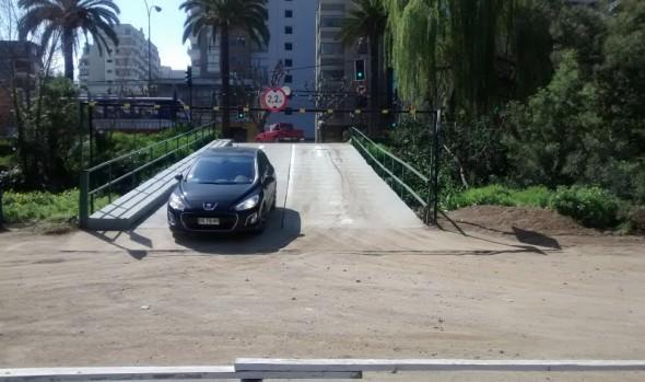 Este viernes quedó habilitado Puente mecano de Quinta