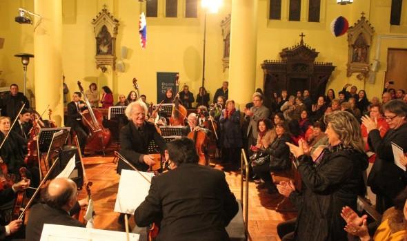 Concierto de Orquesta de Cámara de Chile fue elogiado por alcaldesa Virginia Reginato
