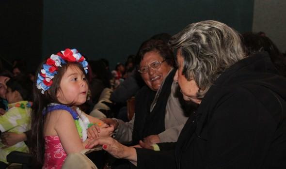 Niños pre-escolares de viña del mar se lucieron en gala folklórica pequeños talentos