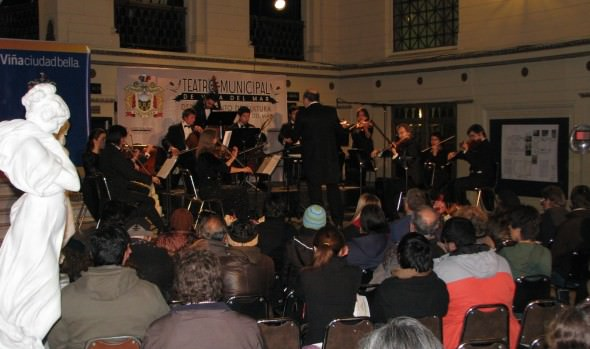 Orquesta Marga Marga interpretará obras de compositores europeos y chilenos en Foyer del Teatro Municipal