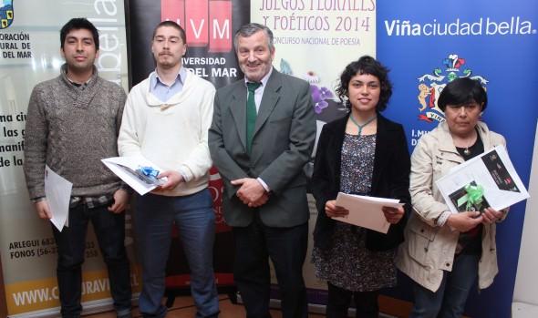 """Clausura de """"Juegos florales y poéticos"""" en Viña del Mar fue encabezada por alcaldesa Virginia Reginato"""