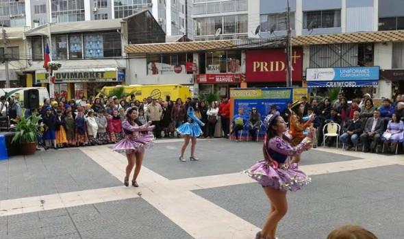 "3º Festival ""Viña Arte joven folklórico"" fue valorado por alcaldesa Virginia Reginato"