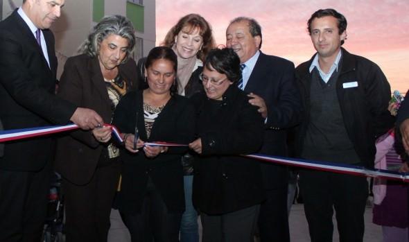 Autoridades inauguraron complejos habitacionales nuevo horizonte I y II de Reñaca Alto