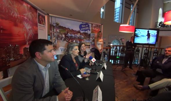 En Córdoba, alcaldesa Virginia Reginato lanzó programa de promoción y presentó a empresarios locales Plan de turismo de Viña del Mar