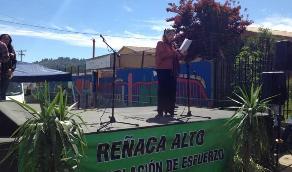 Comunidad de Reñaca Alto celebró 58 años  en actividad encabezada por alcaldesa Virginia Reginato