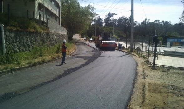 Municipio de Viña del Mar inicia proceso de mejoramiento de calles en Santa Inés
