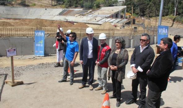 Se inició proceso de construcción de Galería Laguna de Estadio Sausalito