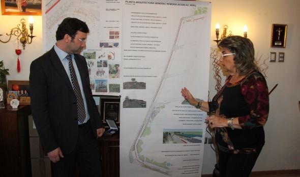 Municipio de Viña del Mar  iniciará el próximo año remodelación de Av. Perú