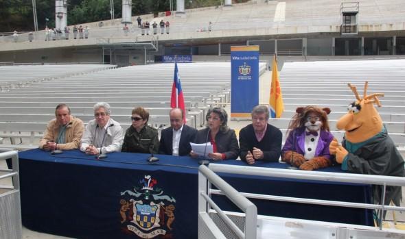 """""""Cachureos"""" y Estrellas de la Nueva Ola chilena se presentarán en la Quinta Vergara, informó alcaldesa Virginia Reginato"""