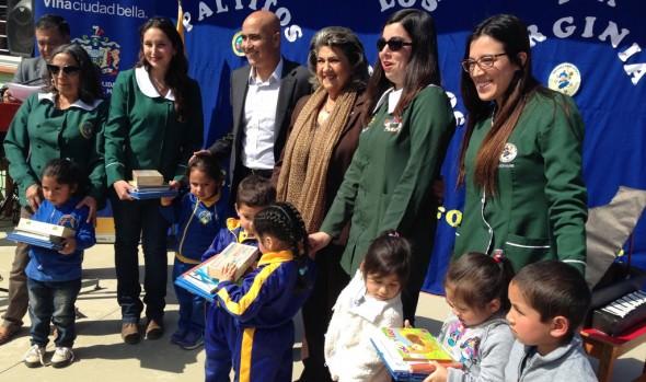 Jardines Infantiles de la Municipalidad de Viña del Mar recibieron importante implementación didáctica