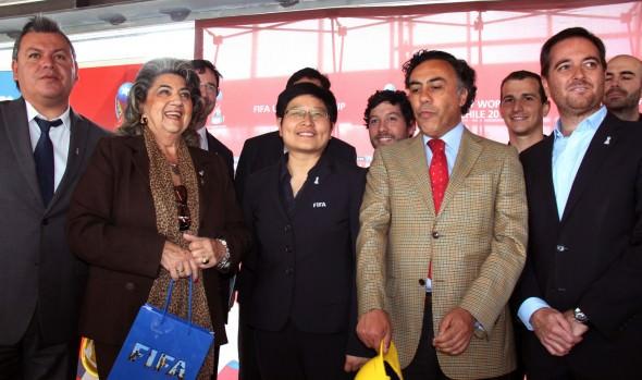 Delegación de FIFA  visitó  Viña del Mar y se reunió con alcaldesa Virginia Reginato,  con miras al Mundial sub 17