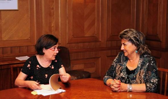 Para abordar plan de inversión en  zonas más vulnerables de Viña del Mar, alcaldesa Virginia Reginato sostuvo reunión con Ministra de Vivienda
