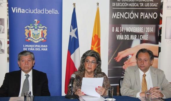 Pianistas de diez países participarán  en 41° Concurso Musical Dr. Luis Sigall