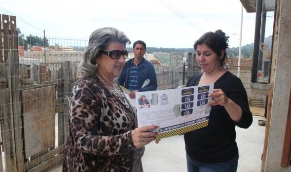 Nuevas alarmas comunitarias para Reñaca Alto inauguró alcaldesa Virginia Reginato