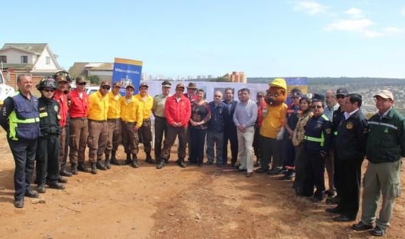Municipalidad de Viña del Mar destina cifra récord de recursos para la prevención de incendios forestales