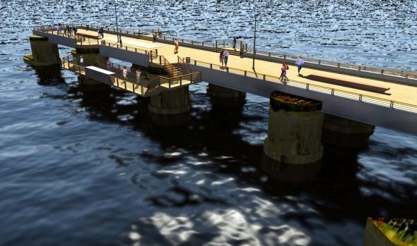 Su satisfacción por pronto inicio de obras de recuperación de Muelle Vergara manifestó  alcaldesa Virginia Reginato