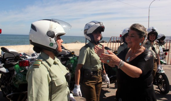 A disfrutar de fin de semana largo en Viña del Mar con tranquilidad invitó alcaldesa Virginia Reginato