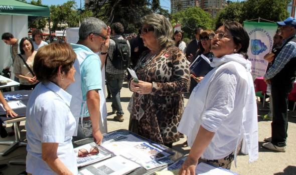 Municipio de Viña del Mar realizó actividad para sensibilizar a los viñamarinos sobre la discapacidad