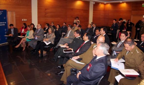 En segunda sesión del Consejo Regional de Seguridad Pública participó alcaldesa Virginia Reginato