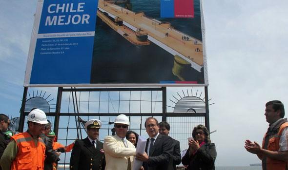 La recuperación del Muelle Vergara destaca alcaldesa Virginia Reginato