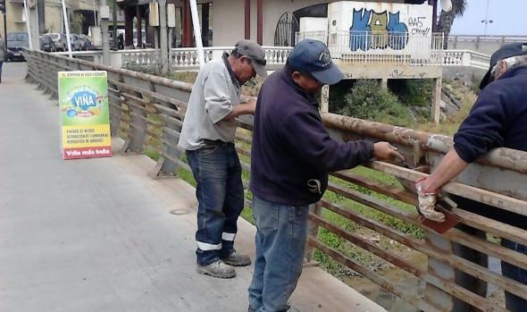 Municipalidad de Viña del Mar  somete a mejoramiento integral Puente de Reñaca