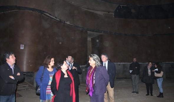Solicitud de recursos de Intendente para recuperar el Teatro Municipal fue valorado por alcaldesa Virginia Reginato