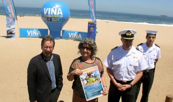 Capitanía de Puerto de Valparaíso y alcaldesa Virginia Reginato hacen  llamado a postular a salvavidas