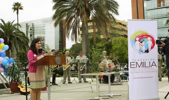 En Viña del Mar se lanzó Fundación Emilia Silva Figueroa, víctimas de acidentes