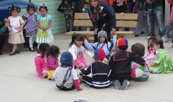 """Jardín Infantil """"Los Paltitos"""" dependiente de la Municipalidad de Viña del Mar celebró su 4º aniversario en Glorias Navales"""