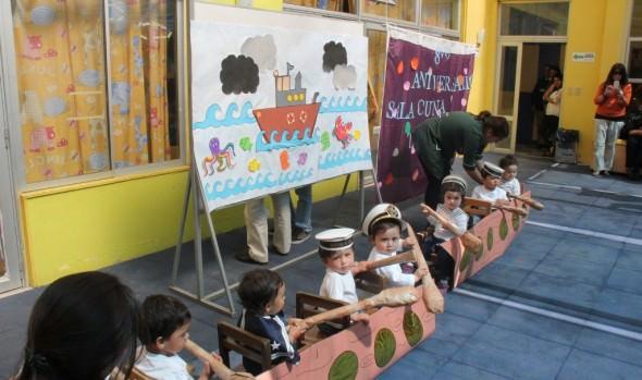 """Sala cuna """"Tía Coty"""" de la Municipalidad de Viña del Mar  cumplió 8 años de importante labor"""