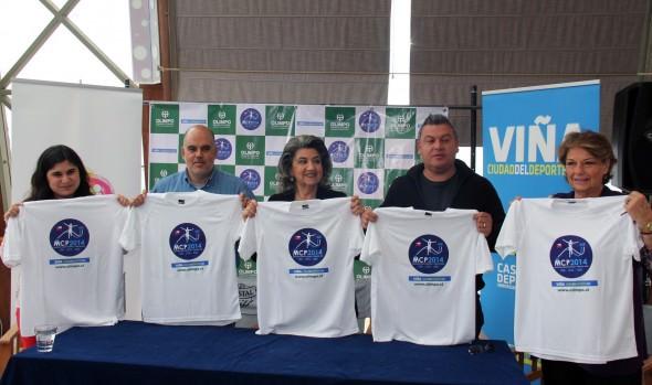 Antecedentes de la 15ª maratón internacional Costa Pacífico fueron dados a conocer por alcaldesa Virginia Reginato