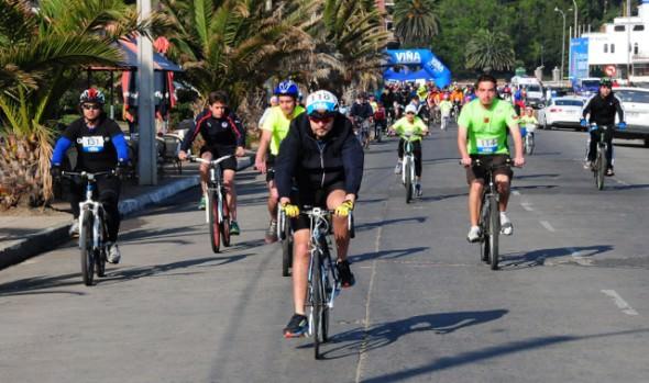 "Municipalidad de Viña del Mar invita a última fecha de Cicletada Familiar ""Súbete a tu Bici"" 2014"