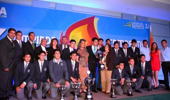 Ganadores de X Olimpiada Escolar,