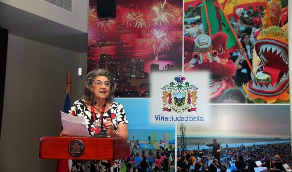 Programación oficial del verano en Viña del Mar fue presentada por alcaldesa Virginia Reginato